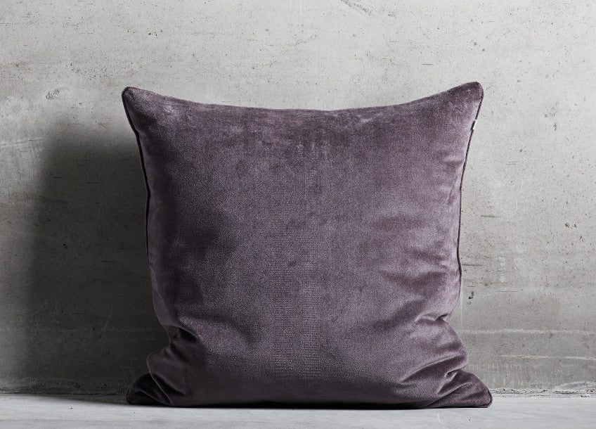 Plum Velvet Cushion Cover - Tine K home - Nomad The Store