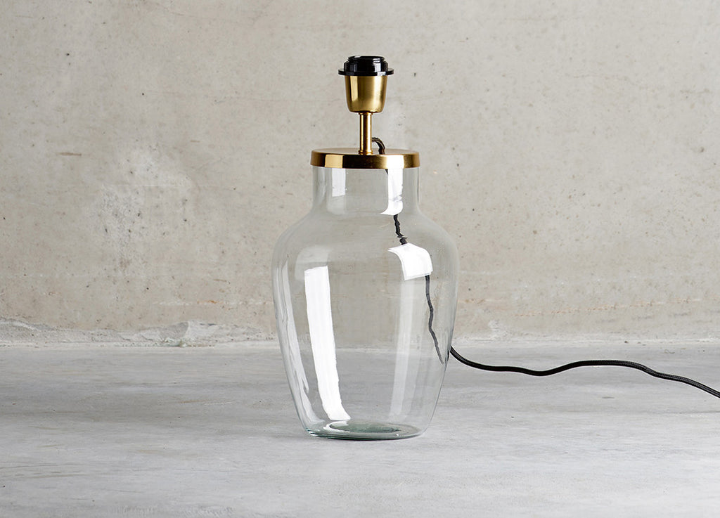 Esta Glass Lamp Base - Tine K home - Nomad The Store