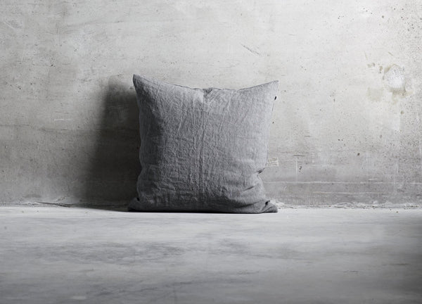Grey Linen Cushion - Tine K home - Nomad The Store