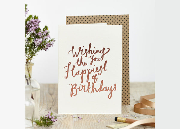 Happiest of Birthdays Card - Nomad The Store - Nomad The Store