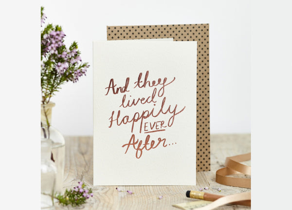 Happily Ever After Card - Nomad The Store - Nomad The Store