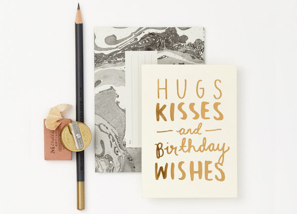 Hugs & Kisses Card - Nomad The Store - Nomad The Store