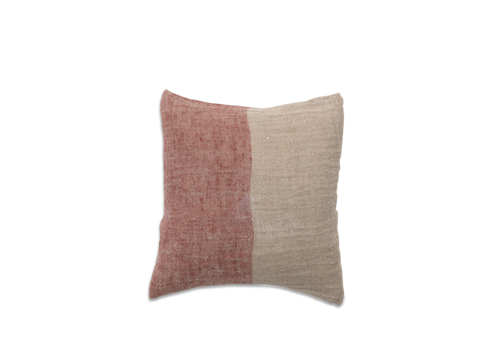 Mobali Linen Cushion Cover Red - Nkuku - Nomad The Store