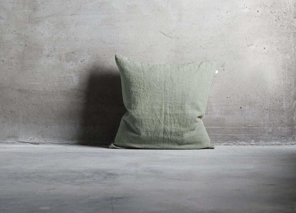 Moss Linen cushion - Tine K - Nomad The Store