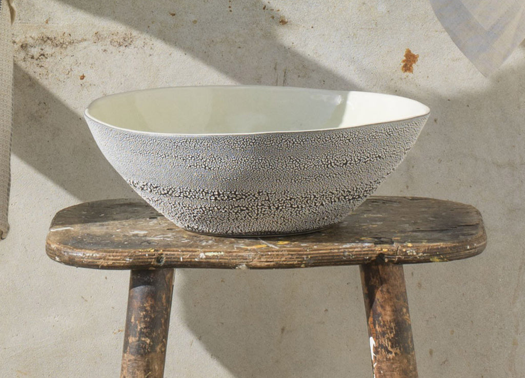 Mud Pan Salad Bowl - Dassie - Nomad The Store