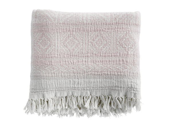 Ethnic Lilac Cotton Throw - Tine K home - Nomad The Store