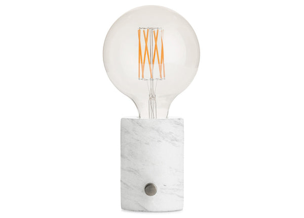 Orbis Lamp White Marble - Nomad The Store - Nomad The Store