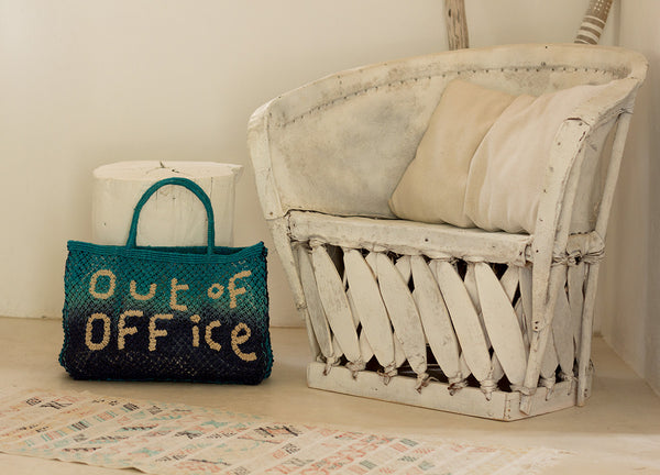 Out Of Office Jute Bag