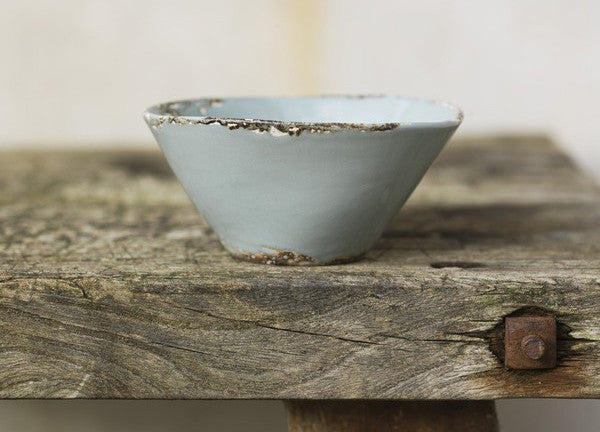 Aged Nibbles Bowl - Aged Celadon - Dassie - Nomad The Store
