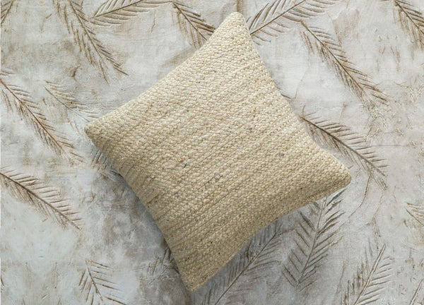 Rishu Jute Cushion Bleach - Dassie Artisan - Nomad The Store
