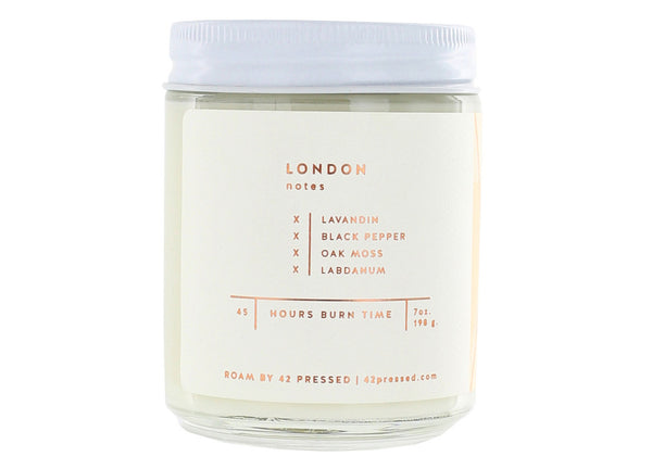 ROAM by 42 Pressed London Candle - ROAM by 42 Pressed - Nomad The Store