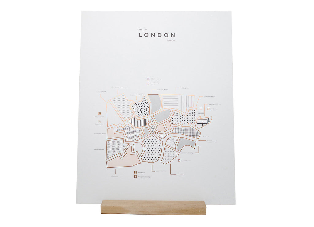 Roam by 42 Pressed London Print - ROAM by 42 Pressed - Nomad The Store