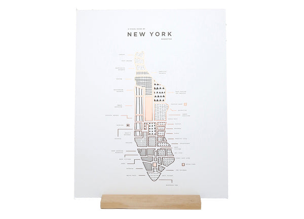 Roam by 42 Pressed New York Print - ROAM by 42 Pressed - Nomad The Store