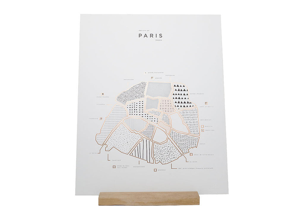 Roam by 42 Pressed Paris Print - ROAM by 42 Pressed - Nomad The Store