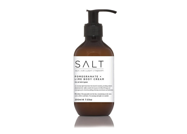Pomegranate + Lime Body Cream By SALT Skincare - SALT - Nomad The Store