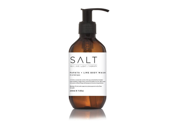 Papaya + Lime Body Wash By SALT Skincare - SALT - Nomad The Store