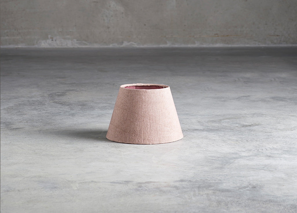 Rose Linen Lampshade Small - Tine K home - Nomad The Store