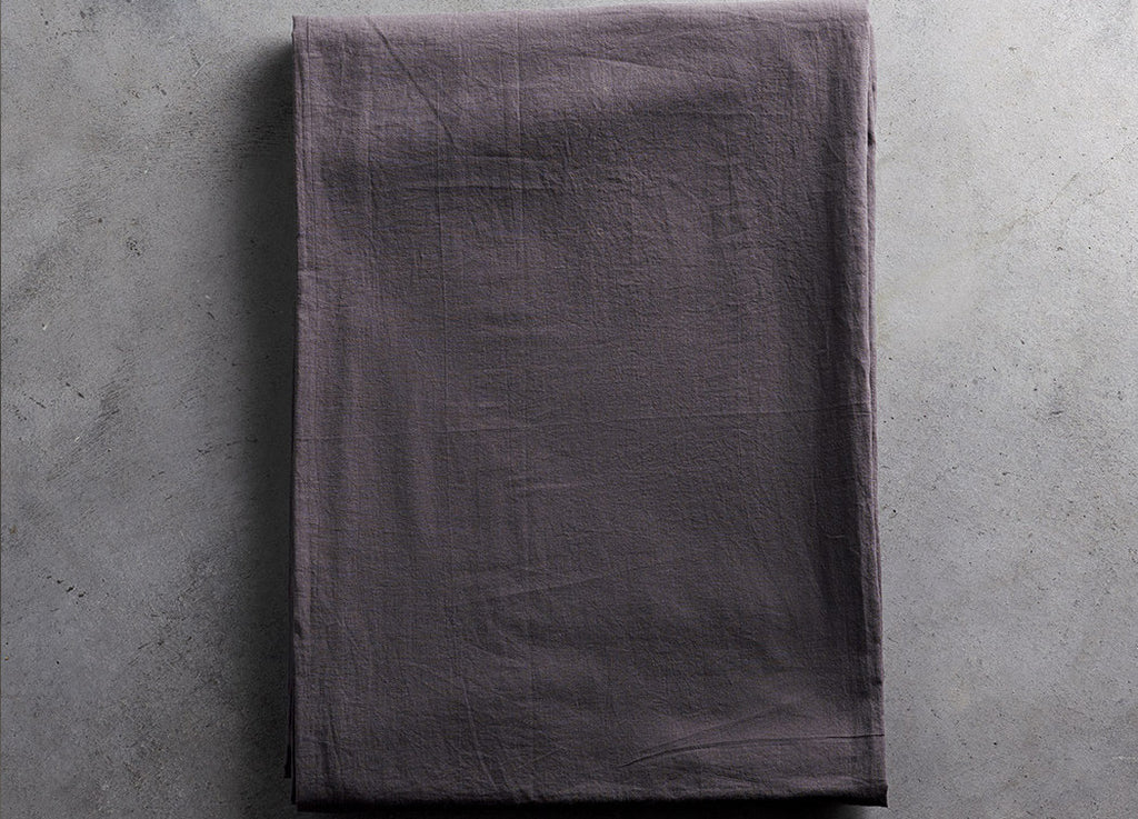 Becca Cotton Tablecloth Smoke - Tine K home - Nomad The Store