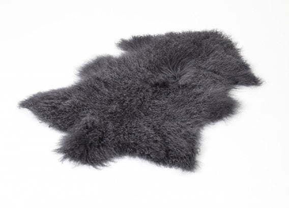 Tibetan Sheepskin Charcole - The Organic Sheep - Nomad The Store