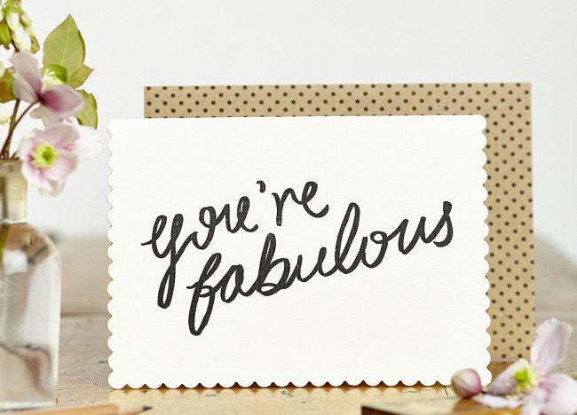 You're Fabulous Card - Nomad The Store - Nomad The Store