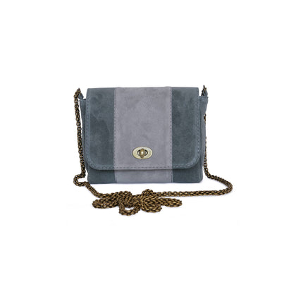 Marinas bag from Philini Collections. Made from gentle suede leather.