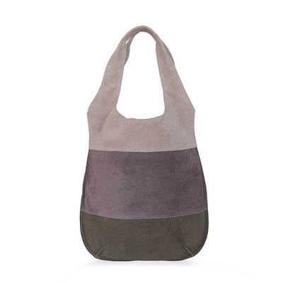 Tote Bag Philini from suede leather.