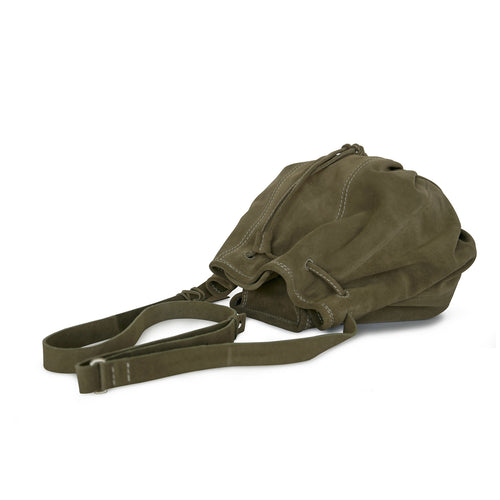Khaki Bucket Bag Pamina from Philini Collections