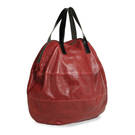 """DOMI"" Mini Modern Red Handbag"