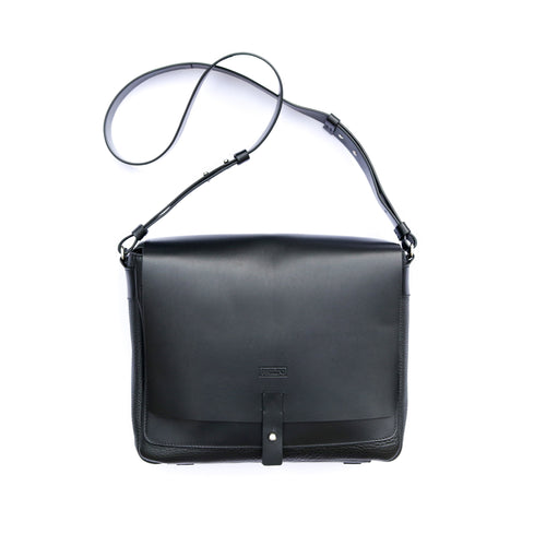 Messenger black bag from new Philini Collections