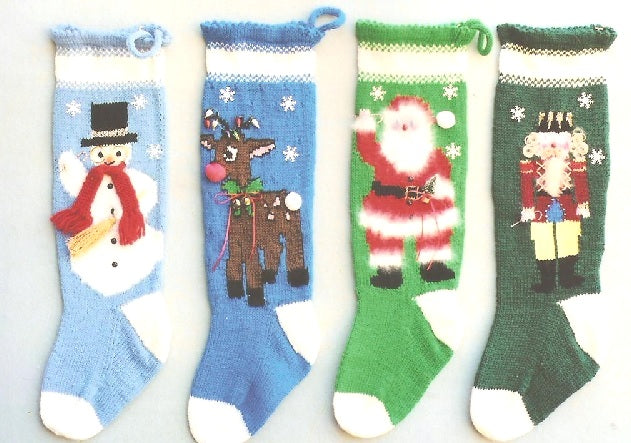 Knitting A Christmas Stocking - Best way, Intarsia or Fairisle?