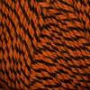 1008 Halloween (Orange Ragg) - Plymouth Encore Worsted Yarn 100gm Ball
