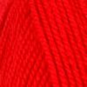 1386 Christmas Red - Plymouth Encore Worsted Yarn 100gm Ball