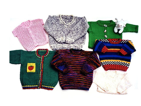 Ann Norling Kid's Basic Pullover, Cardigan & Vest Pattern