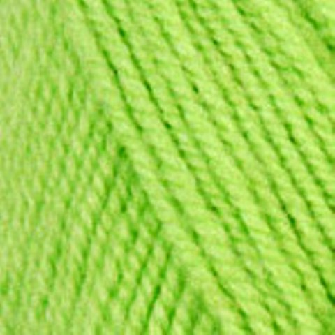 0477 Neon Green - Plymouth Encore Worsted Yarn