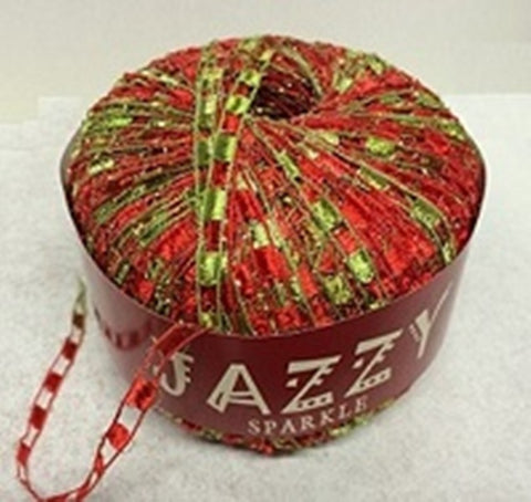 Jazzy Sparkle Ladder Yarn - 50gm Ball