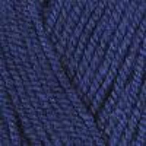 0848 Navy - Plymouth Encore Worsted Yarn 100gm Ball