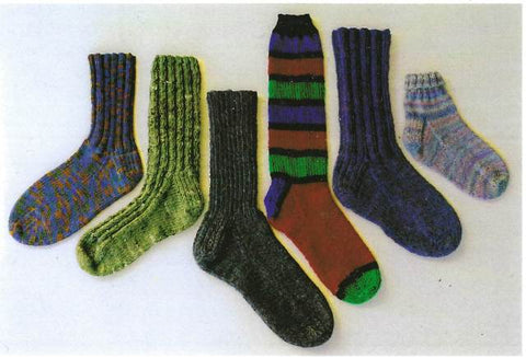 Ann Norling Adult Basic Sock Pattern #12