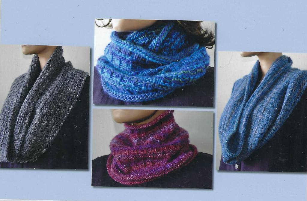Ann Norling Easy Cowl in Any Gauge Pattern #71