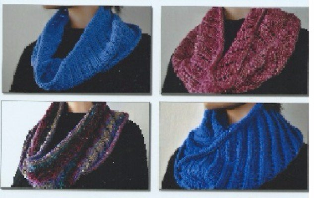 Ann Norling Cowl On The Diagonal - Pattern #72