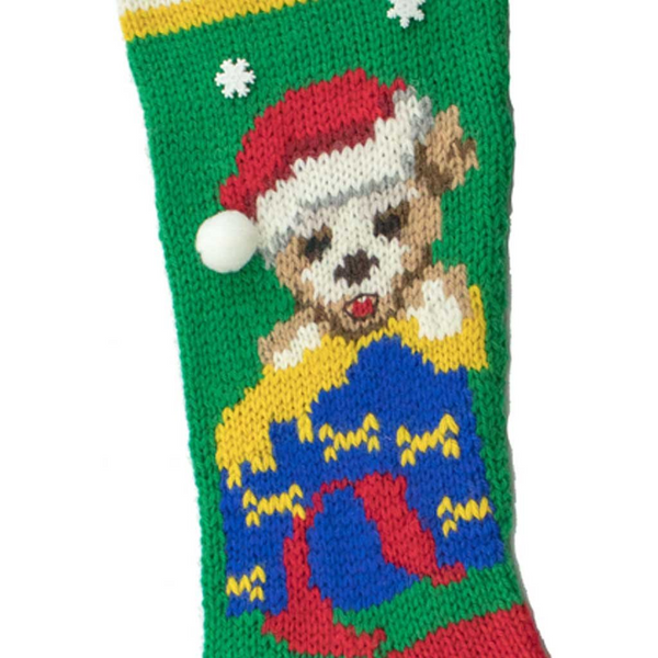 Christmas Pup Stocking Kit - 7056K
