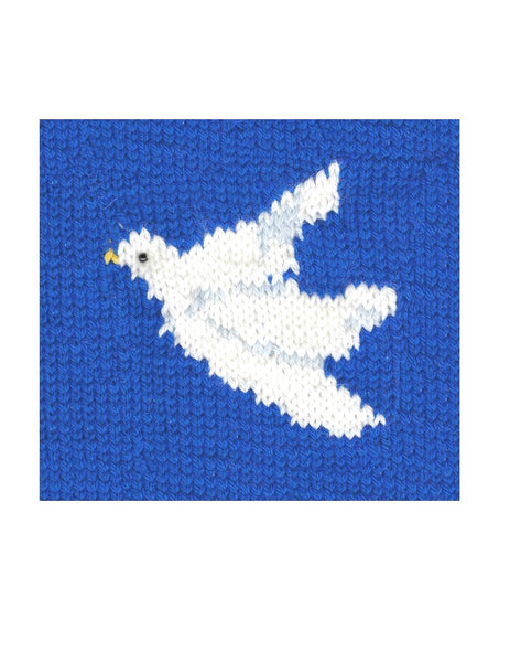 Peace Dove Christmas Stocking Kit