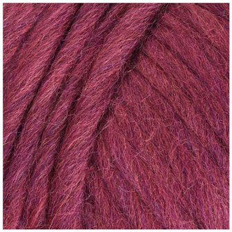 12 Raspberry - Plymouth Galway Roving Super Bulky Yarn - 100g ball