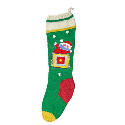 Jack In A Box Christmas Stocking Kit - KC7002