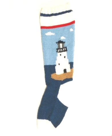 Lighthouse Christmas Stocking Kit Lee's Point Canada