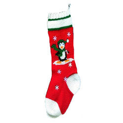 Penguin On Ice Christmas Stocking Kit