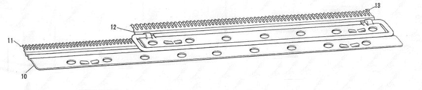 Cast On Comb Wires - Ribber