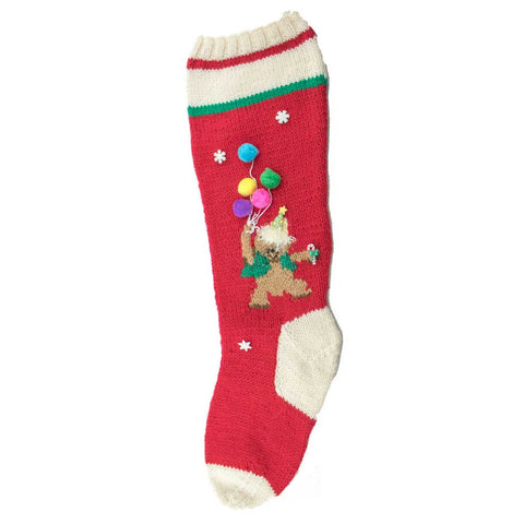 Birthday Bear Christmas Stocking Kit