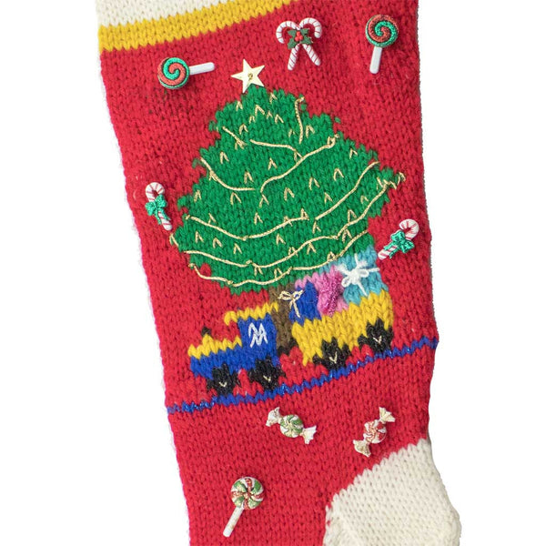 Candyland Express Christmas Stocking Kit