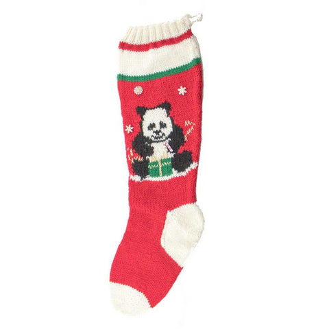 Panda Christmas Stocking Kit