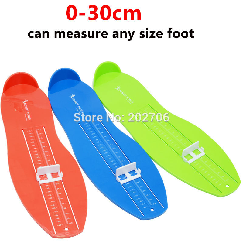 030cm 1848 Euro Size Professional Foot Measuring Gauge Children Adul